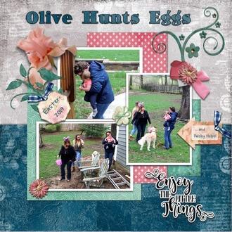 Olive Hunts Eggs