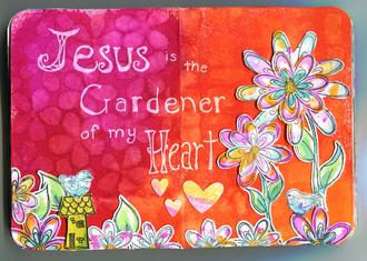 Jesus Gardener Art Journal