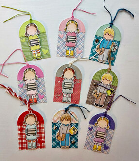 Back to school bags and tags