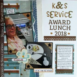 K&S Service Award Lunch