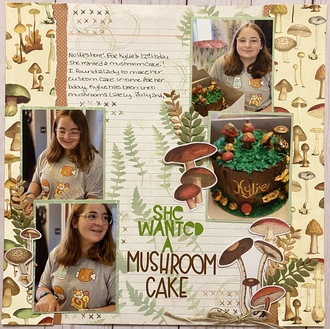 She Wanted a Mushroom Cake