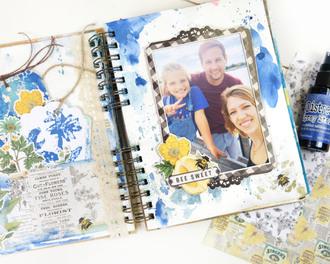 Lemon Twist Journal Page