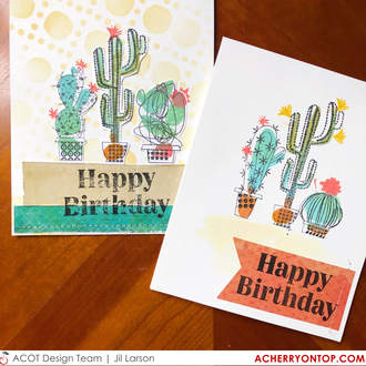 Cactus Birthday Cards