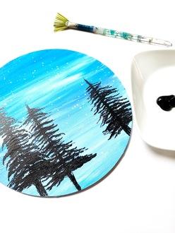 Fan Brush Trees