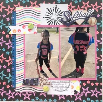 2021 8 Jayna softball