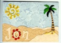 Hawaii Graduation Card