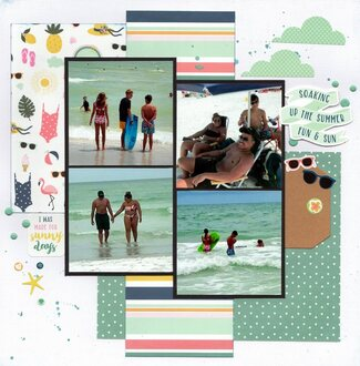 Soaking Up the Summer Fun & Sun