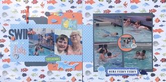 Swim like a fish/ Aug Double Page