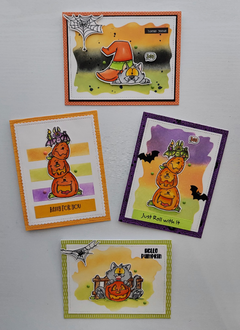 Even more Halloween Cards