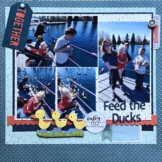 Feeding the Ducks/ Aug Book Lovers