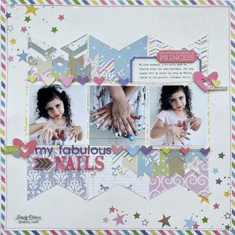 My Fabulous Nails Layout