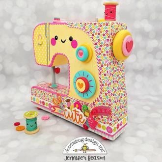 Cute & Crafty Sewing Machine