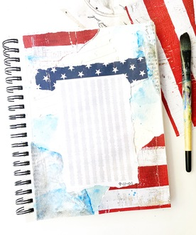 September 11th Art Journal Page