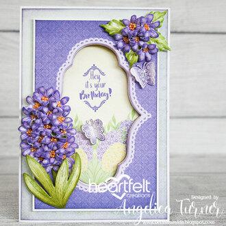 Hyacinth Birthday Card