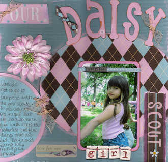 Our Daisy Girl Scout