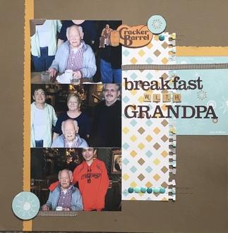 Breakfast with Grandpa