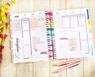 Weekly Planner Spread - Sept