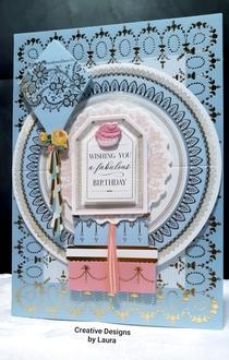 Birthday Cupcake Brads