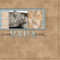 Papa *Scraplift of Tracie Radtke*