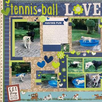 Tennis Ball Love