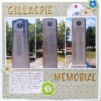 Gillaspie Memorial