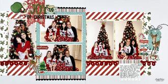 Joy of Christmas Layout
