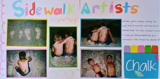 Sidewalk Artists