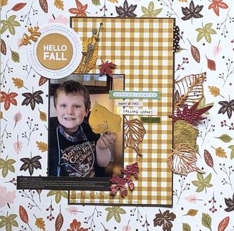 Hello Fall/Becky Fleck #246