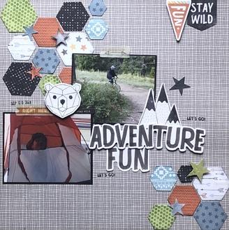 Adventure Fun/ Sara's Sketchy challenge