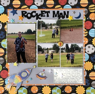 Rocket man/ Oct Manufacturer