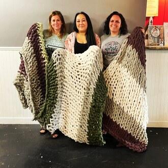 Fluffy blanket fun