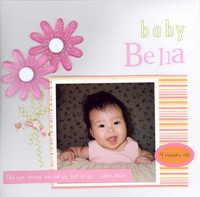baby Bella - Scraplift Scrapsakes