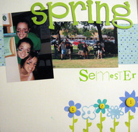 Spring Semester Opening Page