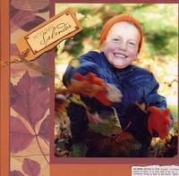 Fall Leaves Robbie