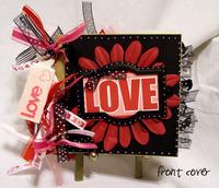 Love paper bag album
