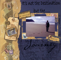 It's not the Destination (As seen in Stamping, Stationery and Scrapbooking)