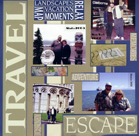 Escape (As seen in Stamping, Stationery and Scrapbooking)