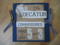 Baseball team albums