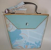 CI bare elements chipboard purse