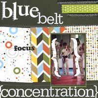 Blue Belt (American Crafts reveal)