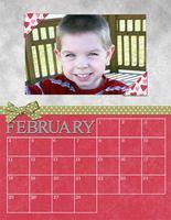 Holiday Gift - 2007 Calendar (February)