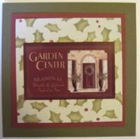 """""""Garden Center"""" Christmas Card"""