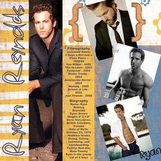Ryan Reynolds - My hunk page challenge