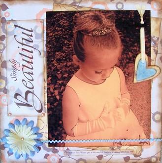 Simply Beautiful - Flowergirl