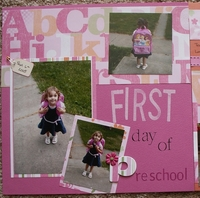 Emily's First Day of Preschool
