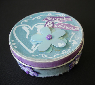 secrets & wishes tin *MaisyMo CT reveal*