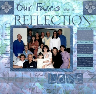 Our Faces are a Reflection