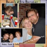 Brian's 25th Birthday
