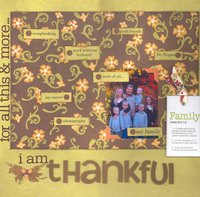 * For all this and more...i am thankful * Nov CT Reveal- gratitude