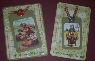 """""""Thankful for You"""" Cards with Tags"""